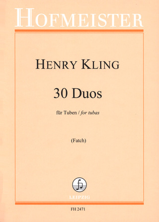 Henry Kling: 30 Duos