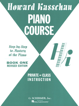 Howard Kasschau: Piano Course Book 1