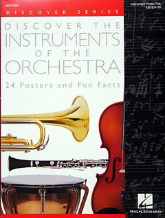 Discover the Instruments of the Orchestra  – Poster