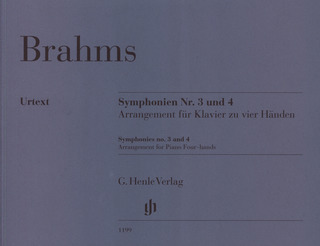 Johannes Brahms: Symphonies no. 3 and 4