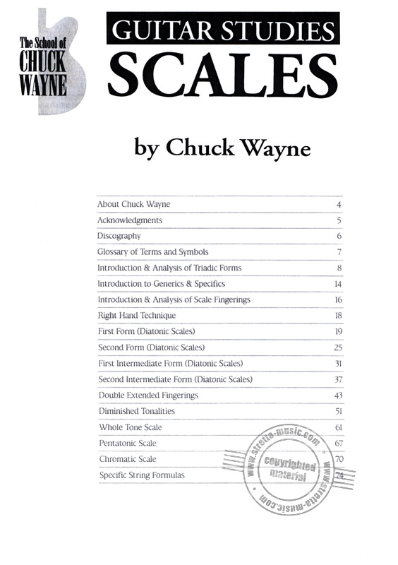 Chuck Wayne: Guitar Studies – Scales (1)