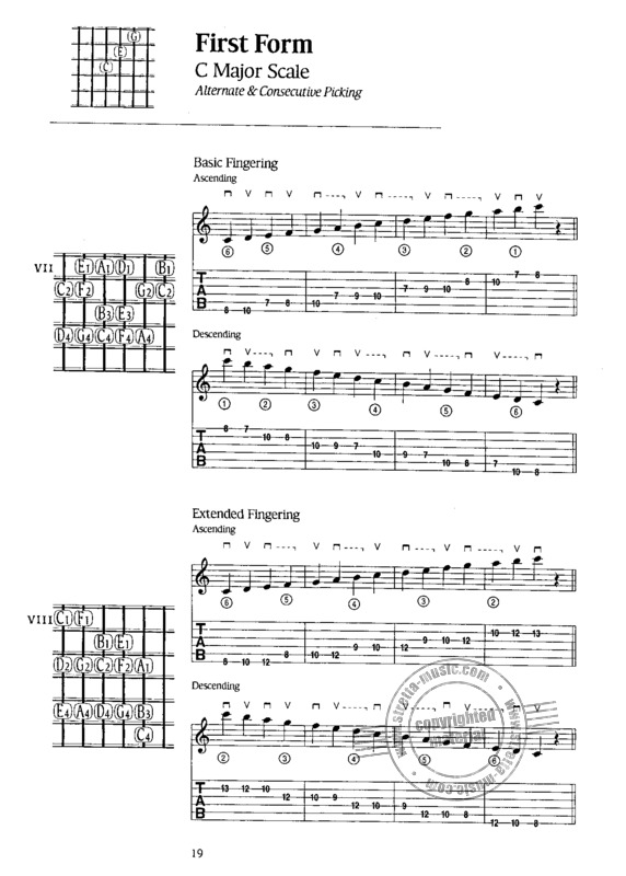 Chuck Wayne: Guitar Studies – Scales (3)