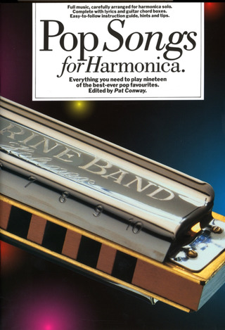 Conway Pat: Pop Songs For Harmonica Book Only Edition