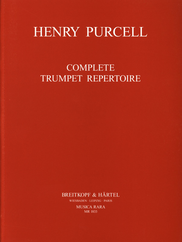Henry Purcell: Orchesterstudien Trompete