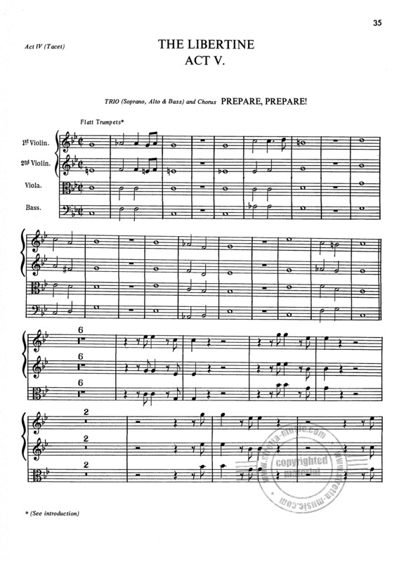 Henry Purcell: Orchesterstudien Trompete (3)
