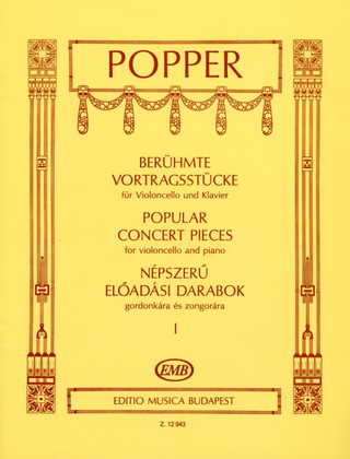 David Popper: Popular Concert Pieces 1