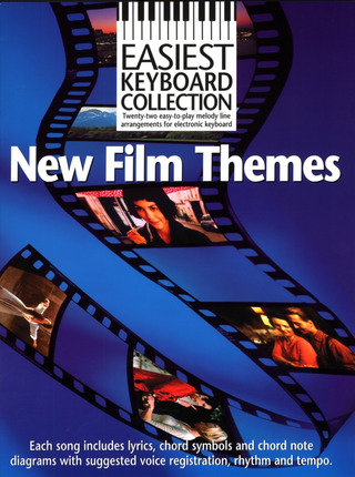 Easiest Keyboard Collection: New Film Themes Kbd Book
