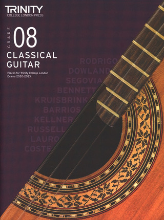 Mark Taylor: Classical Guitar Exam Pieces 2020-2023 Grade 8