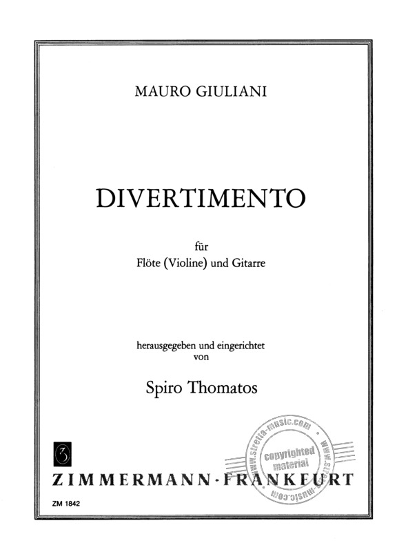 Mauro Giuliani: Divertimento