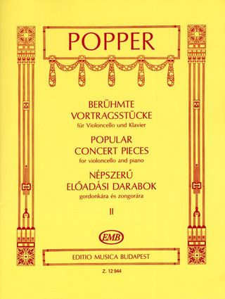David Popper: Popular Concert Pieces 2