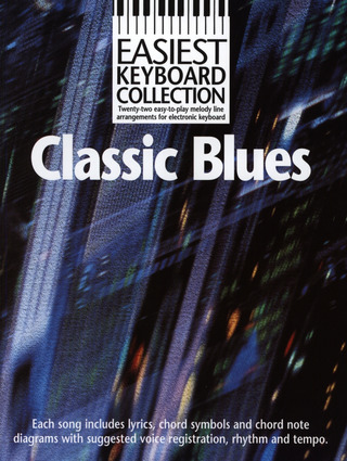 Easiest Keyboard Collection Classic Blues MLC