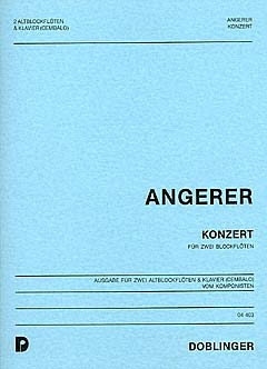 Paul Angerer: Konzert