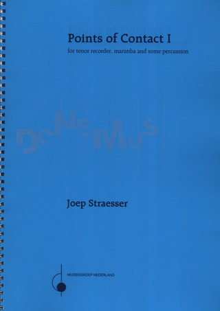 Straesser Joep: Points Of Contact 1