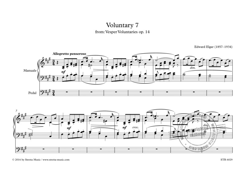 Edward Elgar: Voluntary 7