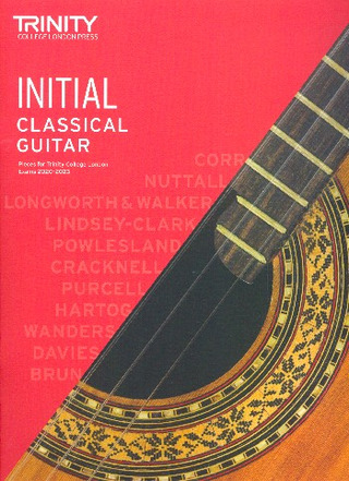 Mark Taylor: Classical Guitar Exam Pieces 2020-2023 Initial