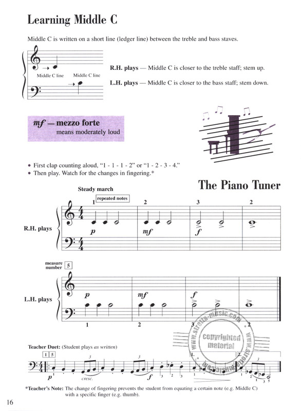 Randall Faber et al.: Accelerated Piano Adventures 1 – Lesson (3)
