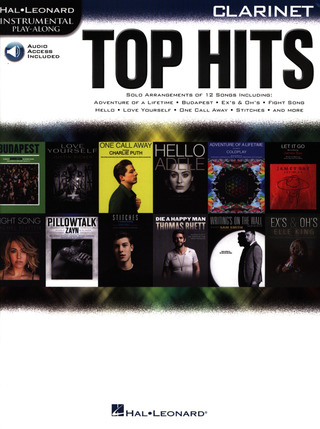 Top Hits – Clarinet