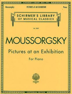 Modest Mussorgski: Moussorgsky Pictures At An Exhibition Pf