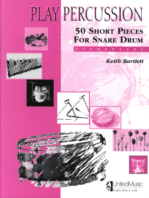 Keith Bartlett: 50 Short Pieces For Snare Drum
