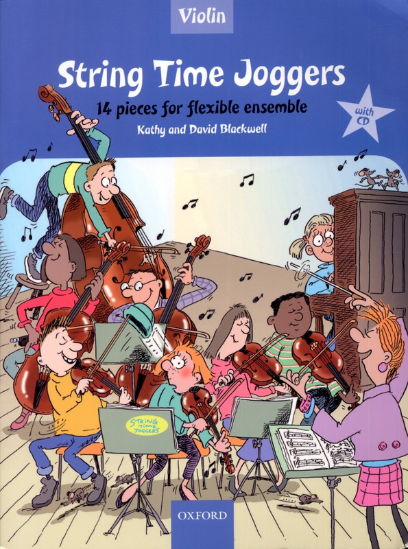 David Blackwell et al.: String Time Joggers