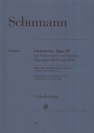 Robert Schumann: Song Cycle op. 39