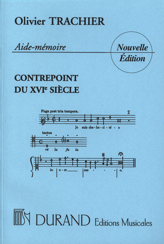 Trachier Olivier: Aide Memoire Contrepoint XVI (Enseignement)