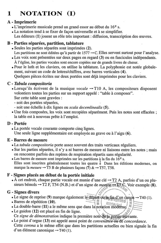 Trachier Olivier: Aide Memoire Contrepoint XVI (Enseignement) (1)