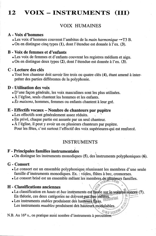 Trachier Olivier: Aide Memoire Contrepoint XVI (Enseignement) (3)