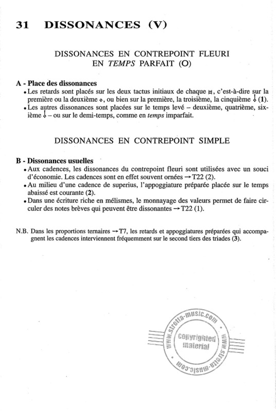 Trachier Olivier: Aide Memoire Contrepoint XVI (Enseignement) (4)