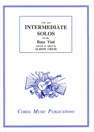 Intermediate Solos For The Bass Viol