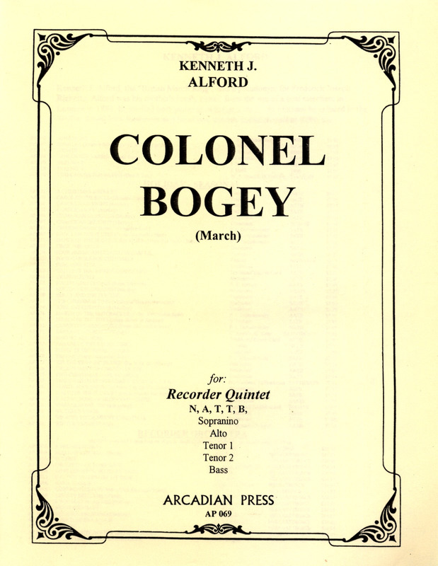 Frederick Joseph Ricketts [aka K. Alford]: Colonel Bogey March