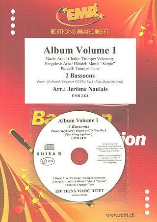Jérôme Naulais: Album Volume 1 + CD