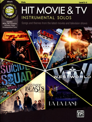 Hit Movie and TV Instrumental Solos (Viola)