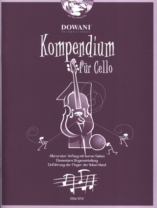 Josef Hofer: Kompendium für Cello 1