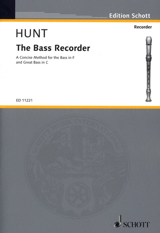 Hunt Edgar Hubert: The Bass Recorder