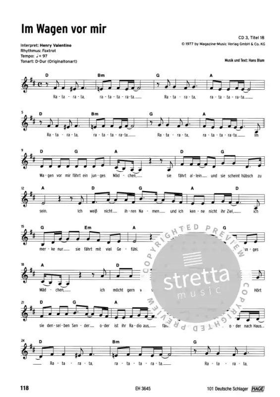 Gesang EH3645 HAGE 101 deutsche Schlager SONGBOOK NEUAUFLAGE Keyboard Gitarre