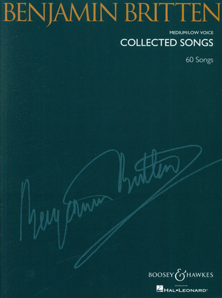 Benjamin Britten: Collected Songs