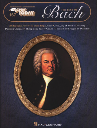 Johann Sebastian Bach: E-Z Play Today 167: The Best of Bach