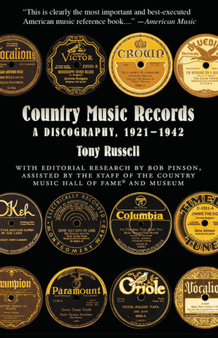 Tony Russell: Country Music Records