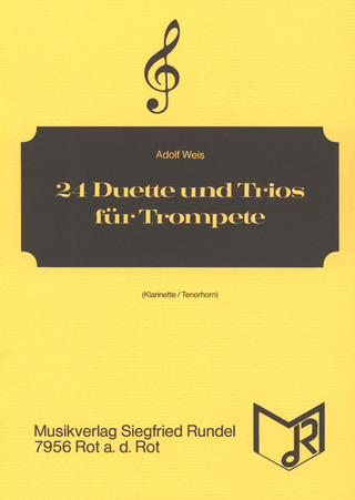 Adolf Weis: 24 Duets and Trios