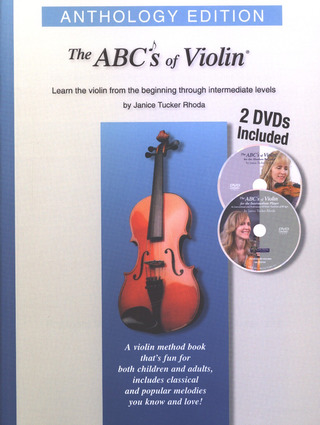 Janice Tucker Rhoda: The ABC's of Violin – Anthology Edition