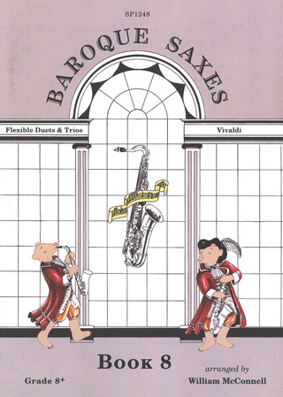 Antonio Vivaldi: Baroque Saxes: Book 8
