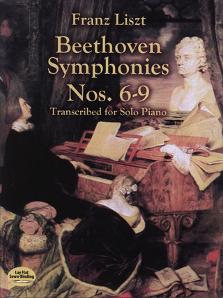 Franz Liszt: Beethoven Symphonies 6-9 Transcribed For Solo Piano By Liszt