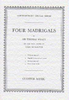 Thea Musgrave: 4 Madrigals
