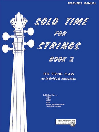 Solo Time For Strings 2 For String Class
