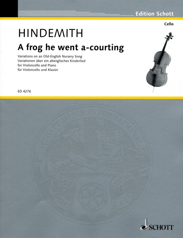 Paul Hindemith: A frog he went a-courting (1941)
