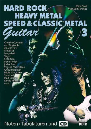 Miro Parol et al.: Hard Rock – Heavy Metal –  Speed & Classic Metal 3