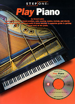 Step One Play Piano Book/Cd