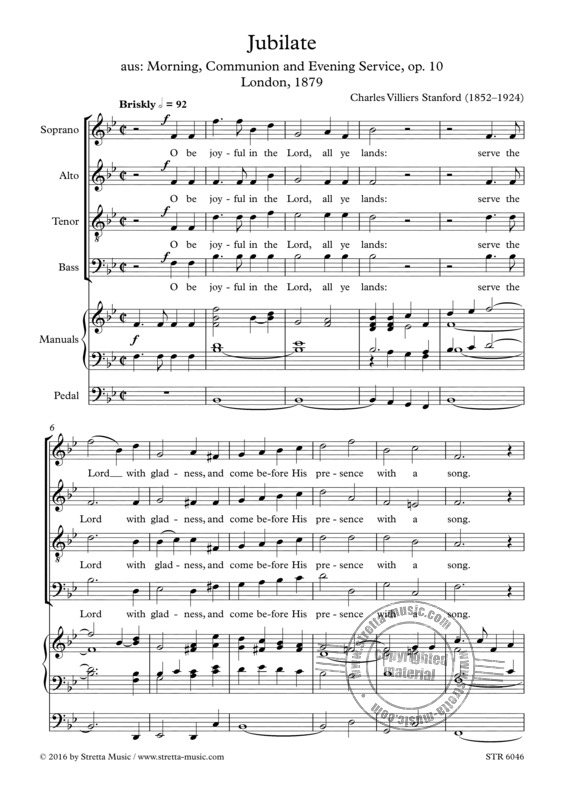 Charles Villiers Stanford: Jubilate
