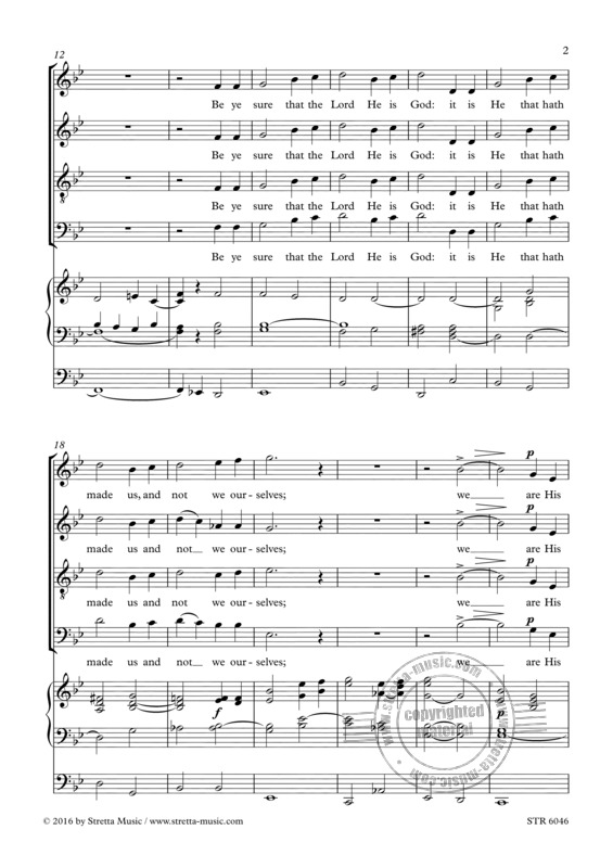 Charles Villiers Stanford: Jubilate (1)